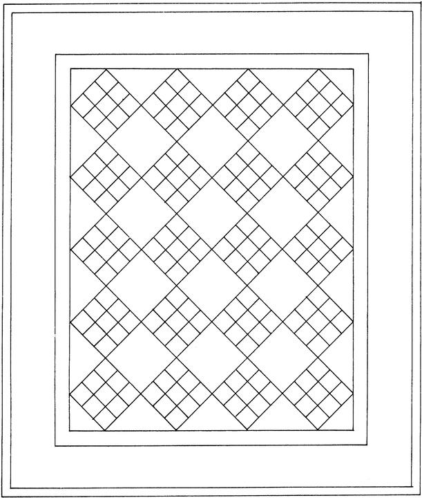 Quilt Pattern Coloring Pages