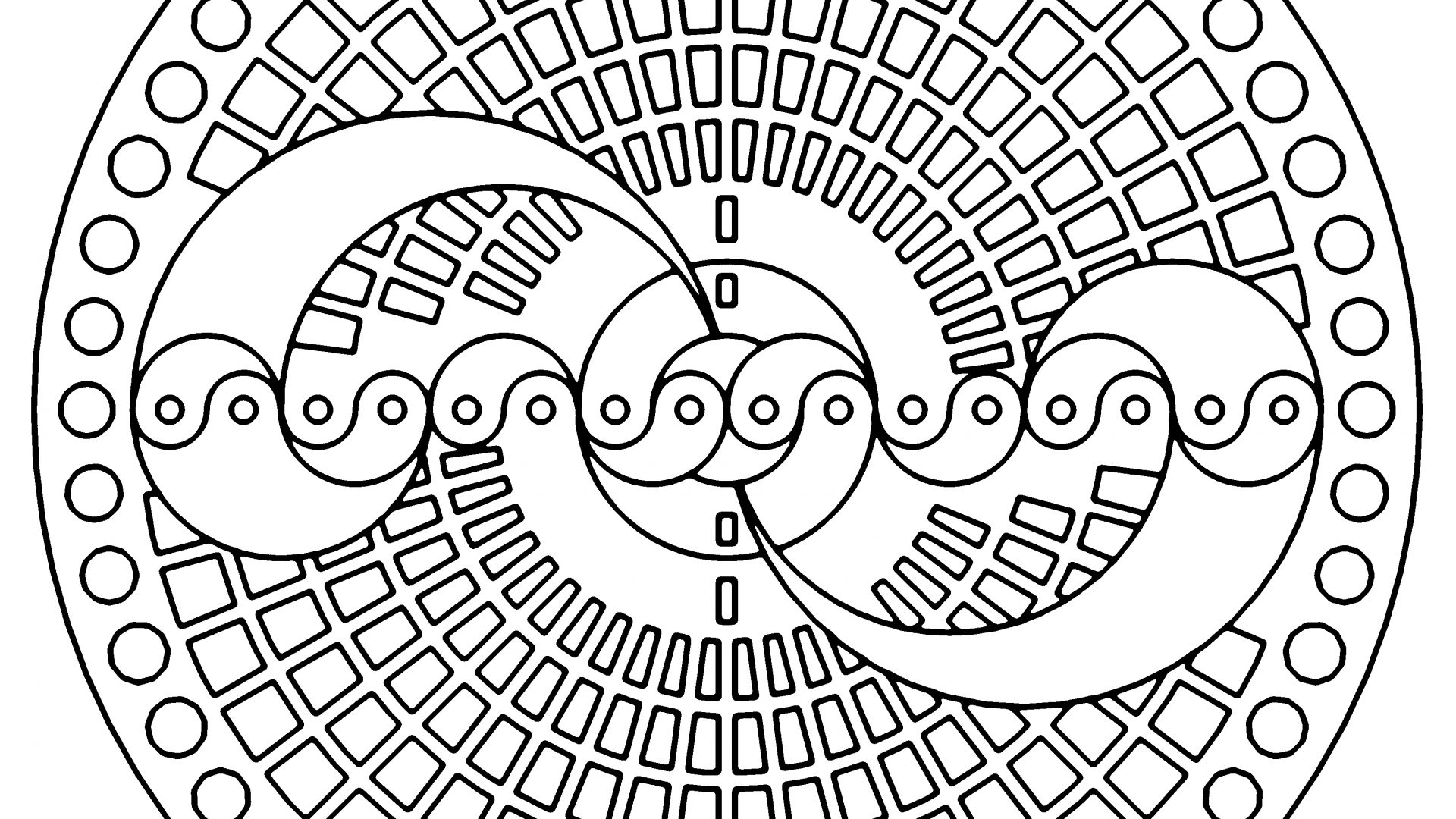 1920x1080 Coloring Pages Image Hd Shapes Colouring Car Printable Quiver App