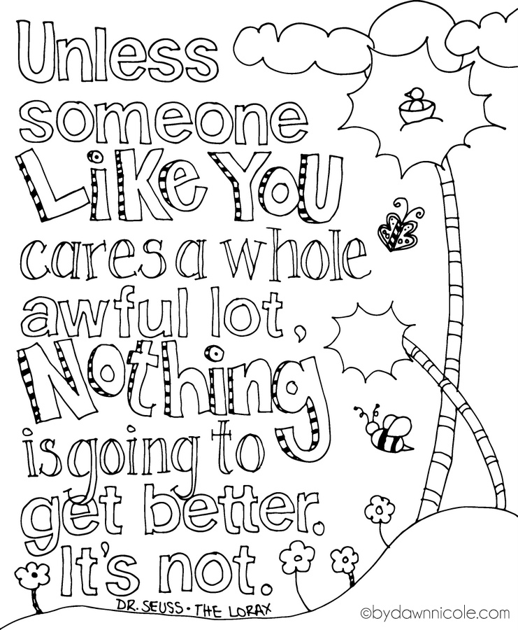 photograph about Printable Quotes to Color known as Quotation Coloring Web pages at  No cost for person