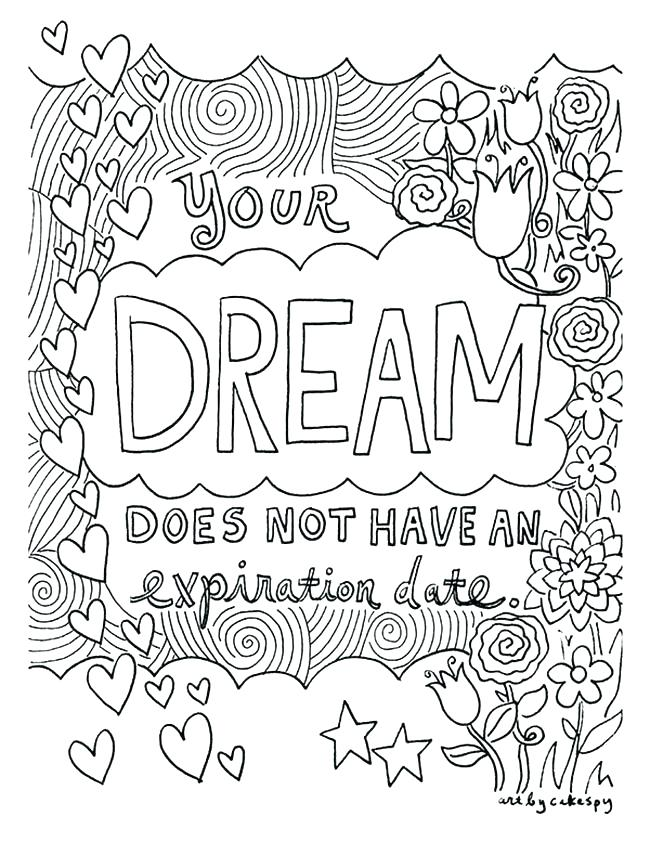 650x841 Quote Coloring Pages Coloring Pages That Are Printable Inspiring
