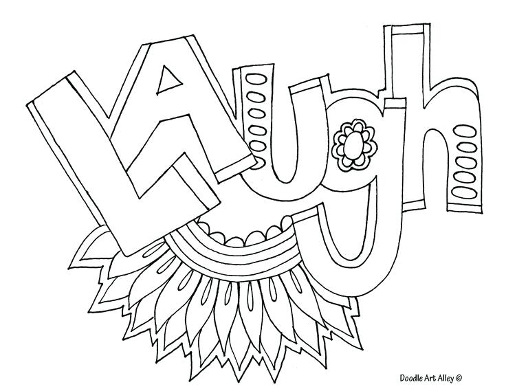 736x569 Quote Coloring Pages Extremely Creative Words Coloring Pages Laugh