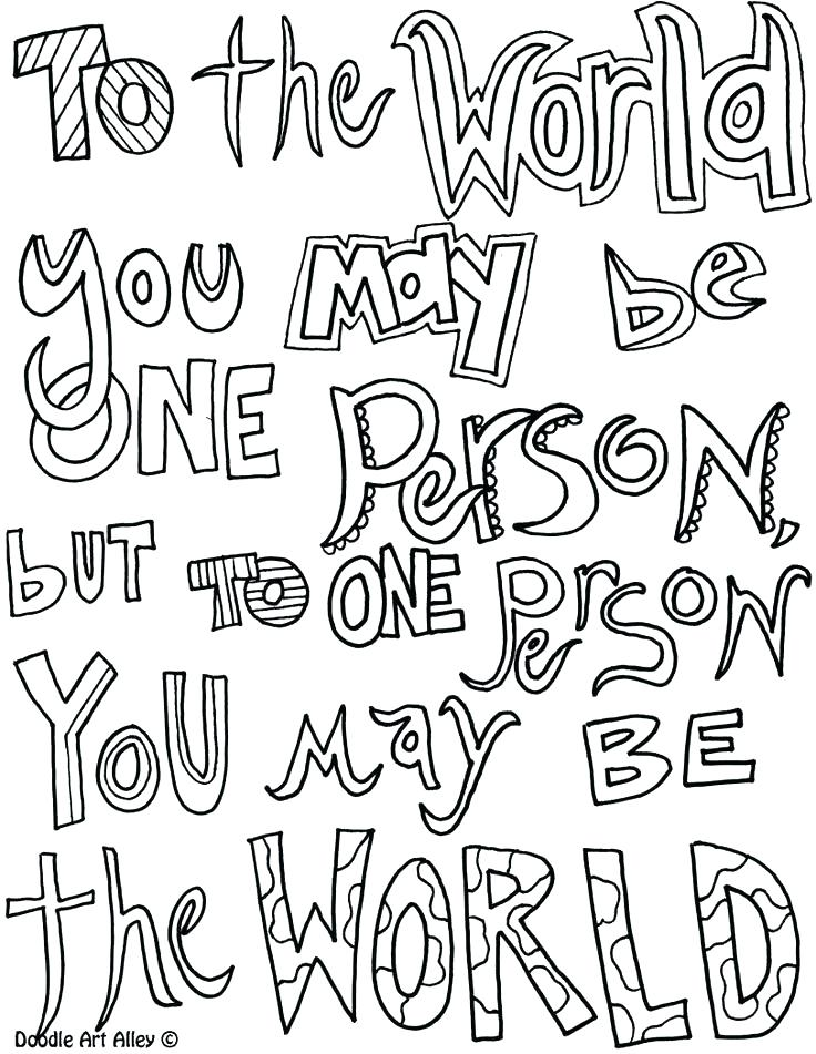736x951 Quote Coloring Pages Or Religious Quotes Coloring Pages
