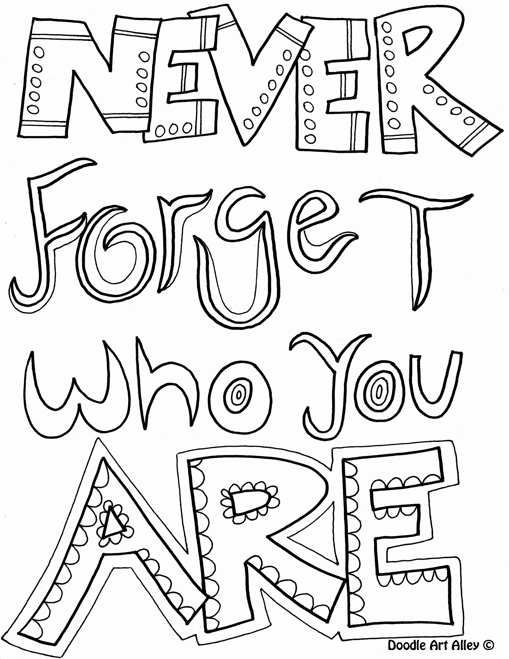 1700x2200 Awesome Quote Coloring Pages Free Coloring Pages Download