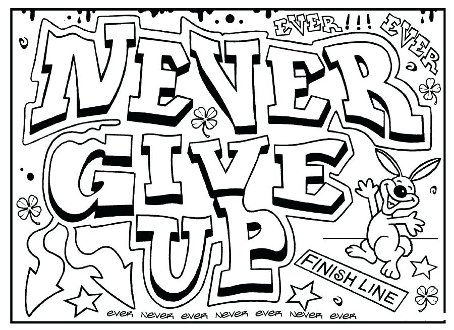 900x655 Coloring Pages For Adults Quotes