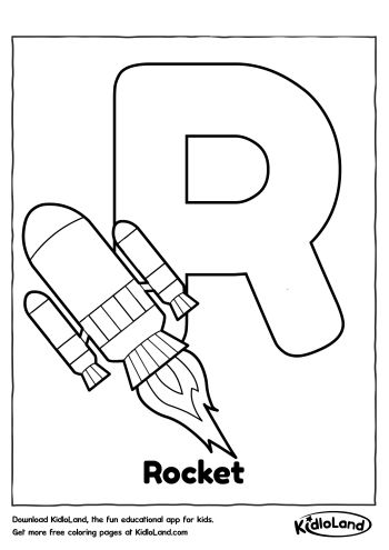 350x495 Alphabet Coloring R Free Printables For Your Kids