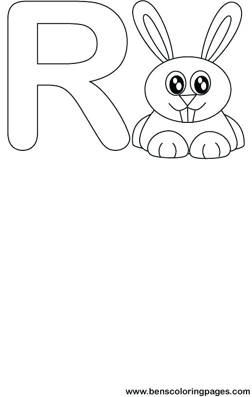 505x795 Letter R Coloring Pages Fresh Letter R Coloring Pages Print