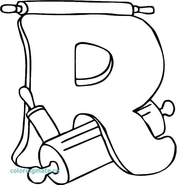700x732 Letter R Coloring Pages Print R Coloring Page Letter R Coloring