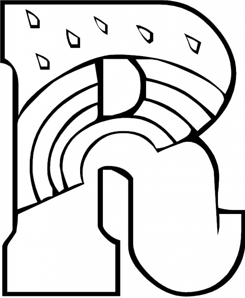 841x1024 Letter R Coloring Page Inside Best Of Ahmedmagdy