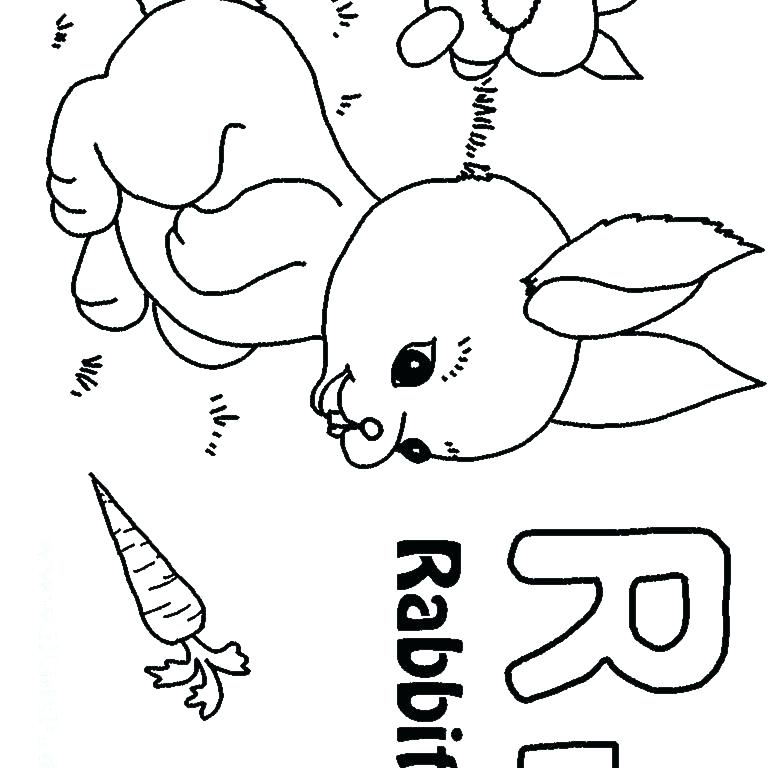 768x768 Letter R Coloring Pages Printable Deepart