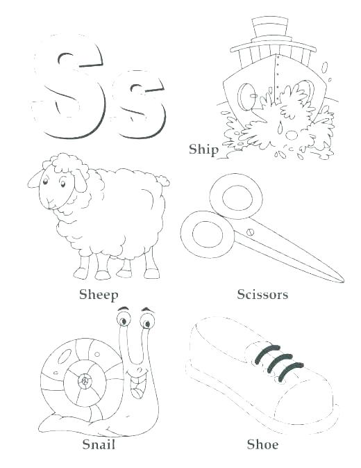 520x673 R Coloring Pages