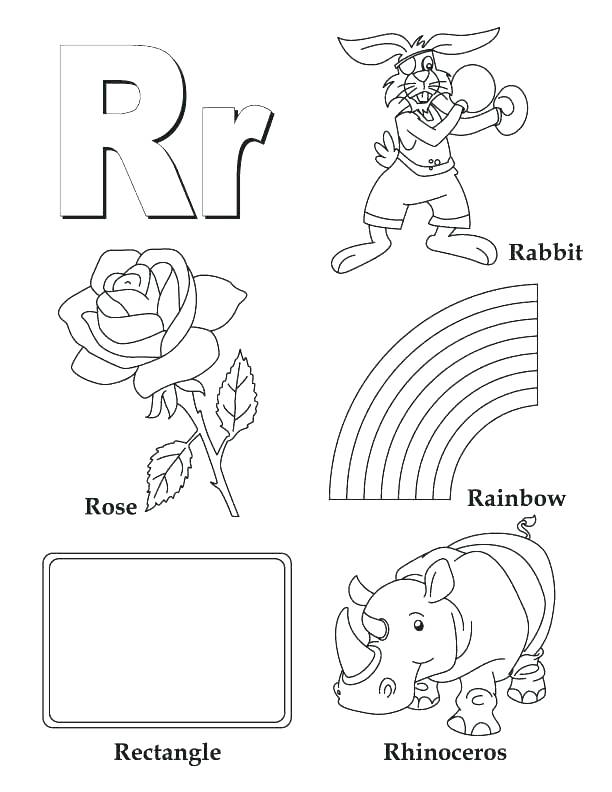 612x792 Coloring Letter Pages Coloring Pages Coloring Page Draw Letter R