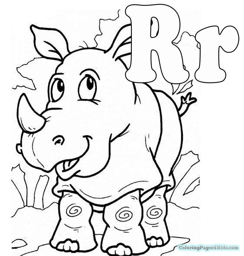 848x891 Coloring Pages For Kids Alphabet Letter R Coloring Pages For Kids