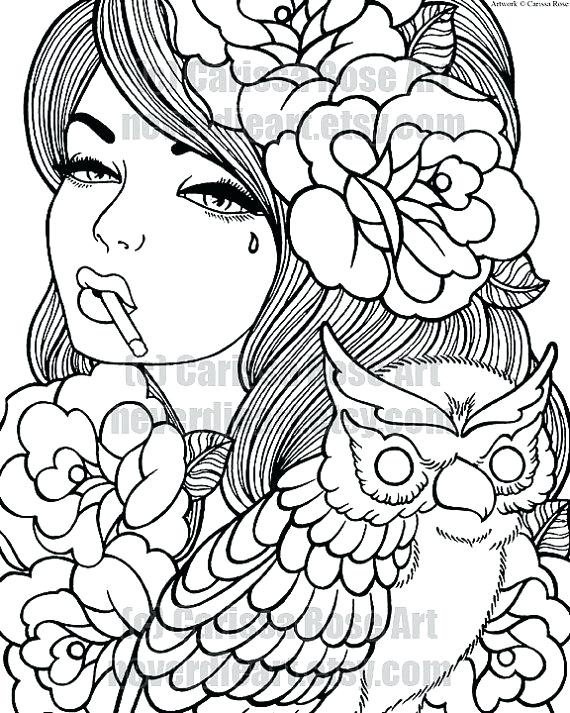 570x713 Coloring Pages For Adult Coloring Pages Adults Christmas