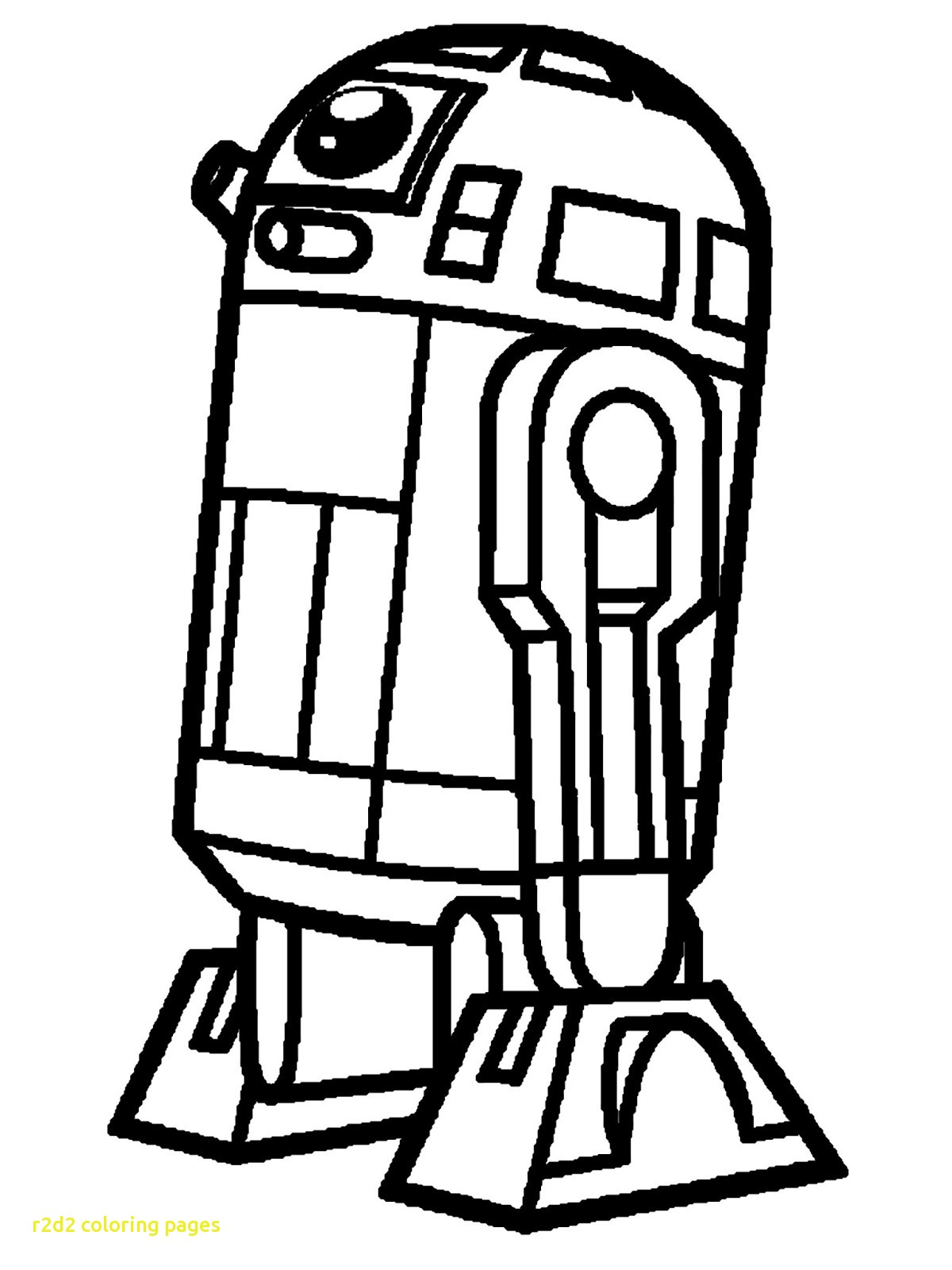 R2d2 And C3po Coloring Pages At Getdrawings Com Free For Personal