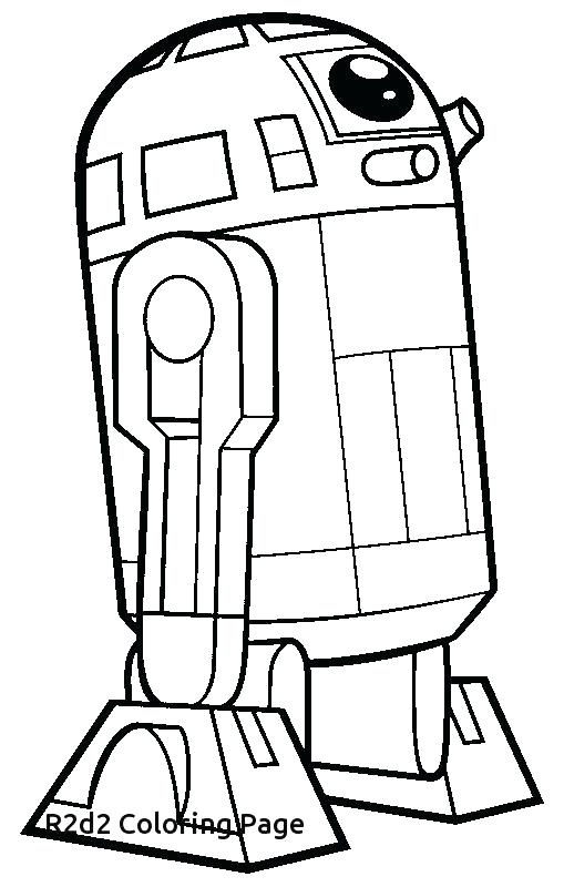 image relating to R2d2 Printable known as R2d2 Coloring Web pages Printable at  No cost for