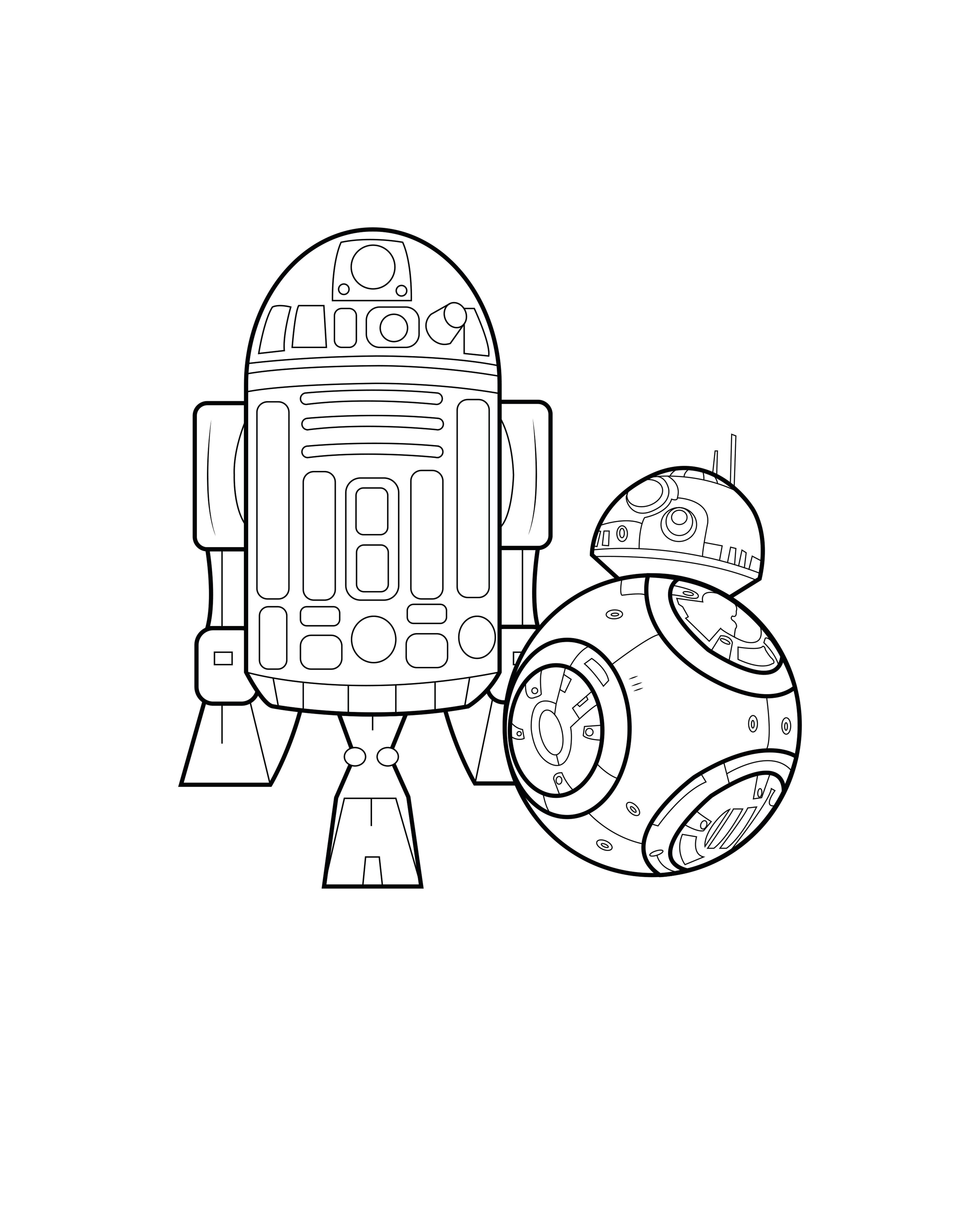 picture regarding R2d2 Printable identified as R2d2 Coloring Web pages Printable at  Absolutely free for