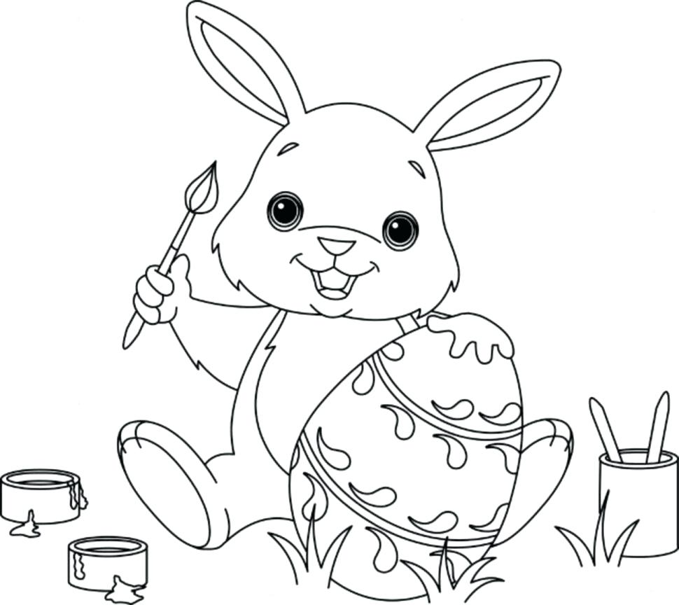 970x864 The Truth About Bunny Rabbit Coloring Pages For Kids Cute Color