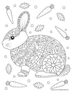 232x300 Fall Animal Adult Coloring Pages Woo! Jr Kids Activities