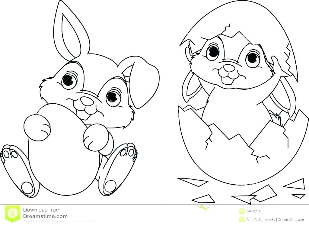 1024x748 Bunny Color Sheet Baby Rabbit Coloring Sheet Bunny Pages Page