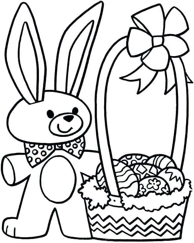 643x806 Easter Rabbit Colouring Sheets Coloring Pages For Bunny Coloring