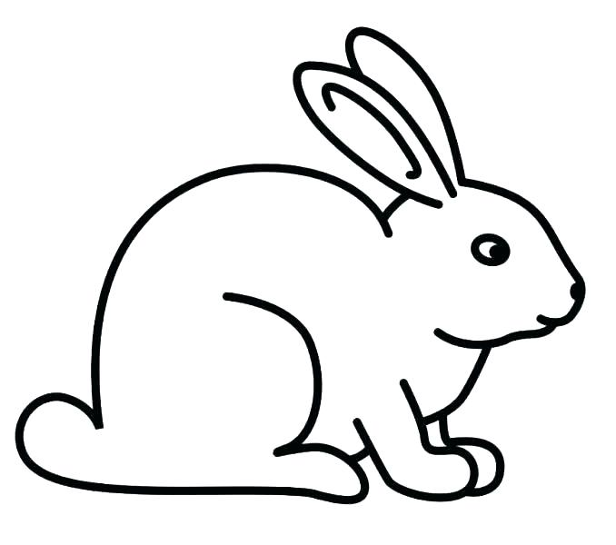 678x600 Printable Bunny Coloring Pages Picture Of Bunny To Color Bunny