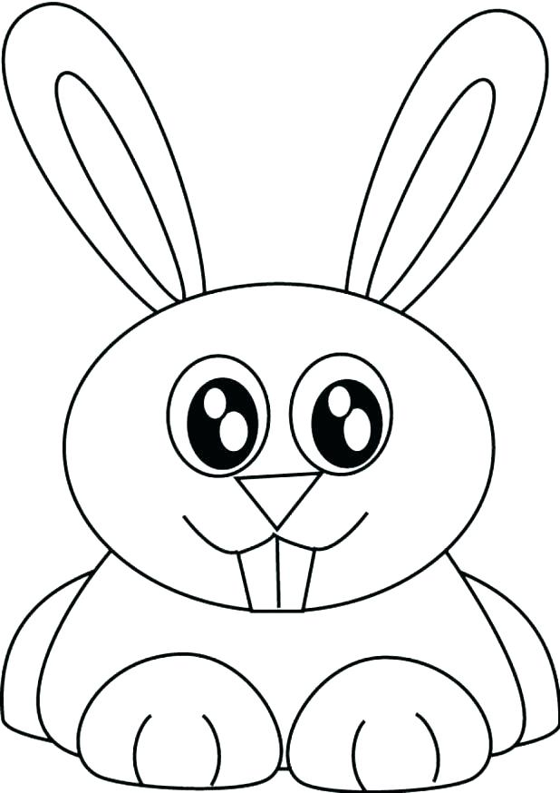 618x874 Printable Bunny Coloring Pages Printable Bunny Coloring Pages Baby