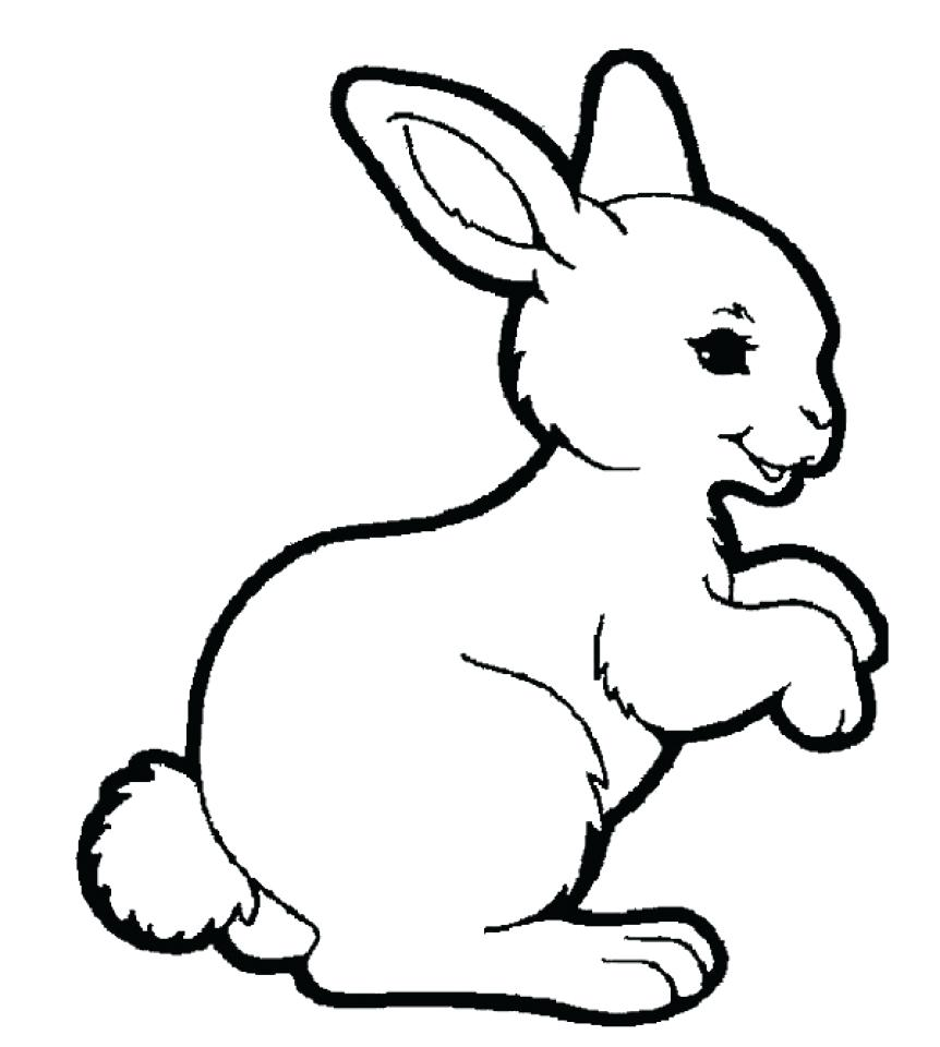 862x960 Coloring Pages Rabbit Coloring Page Cute Pages Cartoon Free