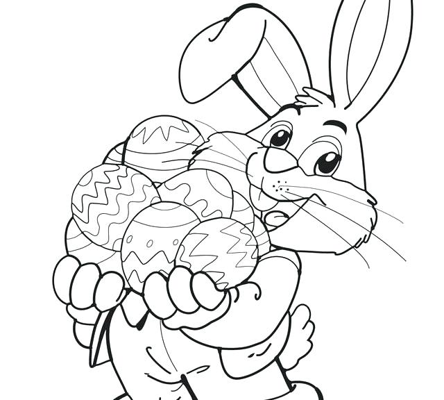 640x576 Free Coloring Pages Easter Bunny Free Printable Bunny Coloring