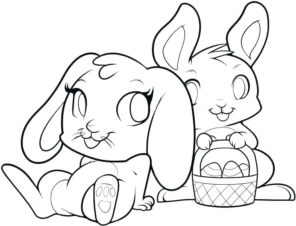 970x743 Rabbit Color Pages Bunny Coloring Pages Media Rabbit Color Pages