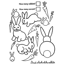 230x230 Top Free Printable Rabbit Coloring Pages Online