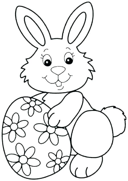450x635 Coloring Pages Of Rabbits