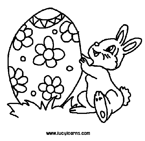 500x484 Bunny Coloring Pages To Print Printable