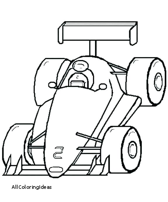 photograph about Printable Race Cars identified as Race Car or truck Coloring Web pages For Children at  No cost