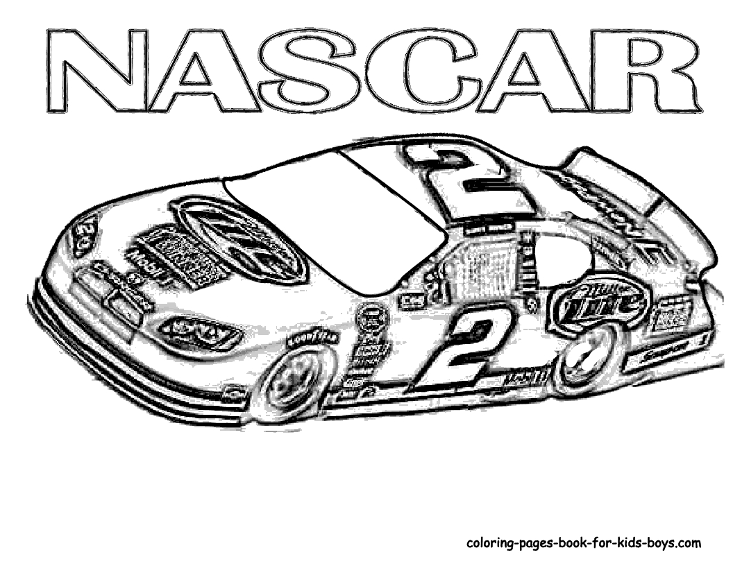 Race Car Coloring Pages To Print At Getdrawings Com Free For