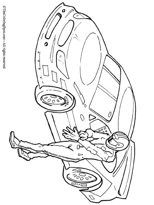540x720 Race Car Coloring Pages Race Car Driver Coloring Pages Kids