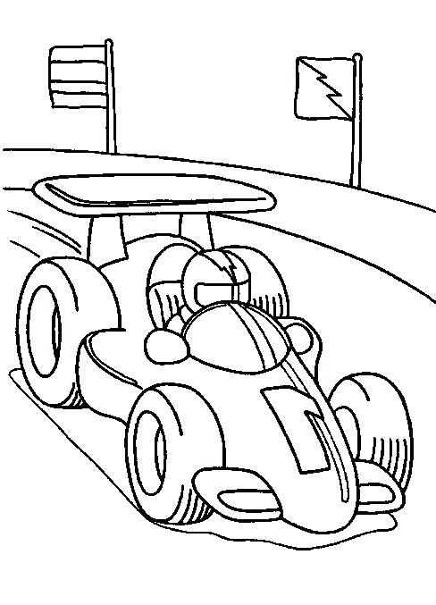 488x677 Racecar Coloring Page About Coloring Pages Free Race Car Coloring