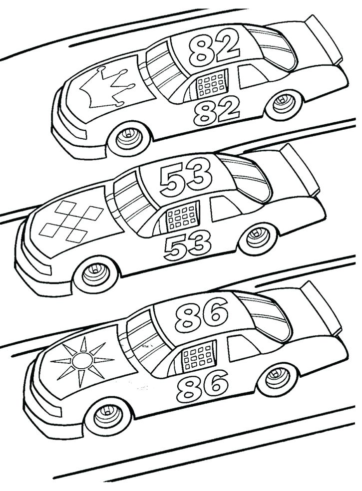 725x984 Racecar Coloring Page Free Race Car Coloring Pages Race Car