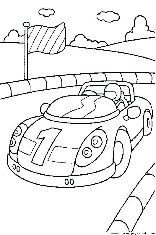 528x794 Coloring Car Pages Coloring Race Cars Printable Coloring Car