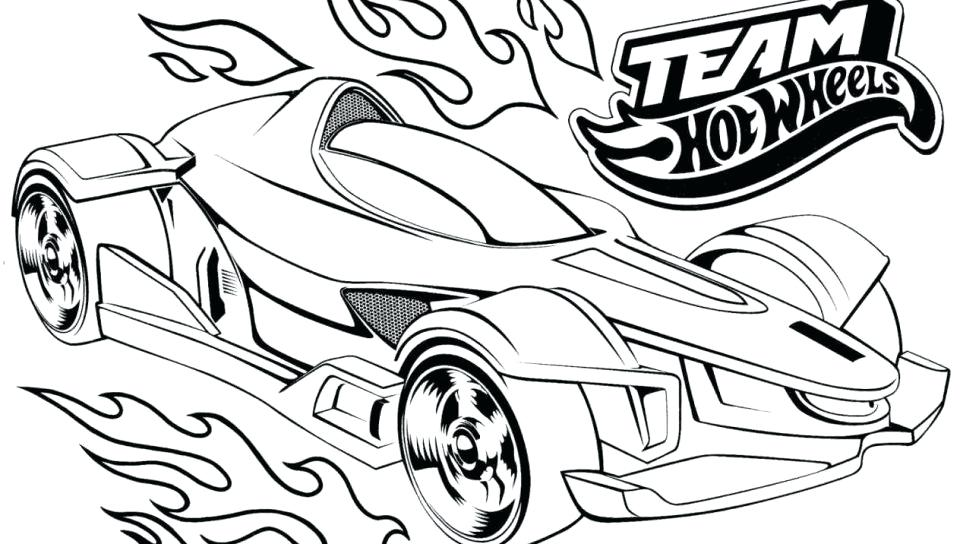 Racecars Coloring Pages