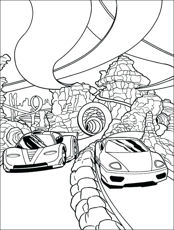 600x790 Coloring Pages Of Race Cars Free Printable Race Car Coloring