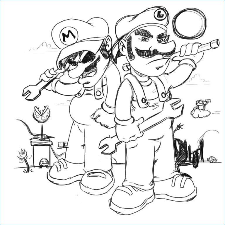 768x768 Mario Kart Coloring Pages New Mario Racing Coloring Pages
