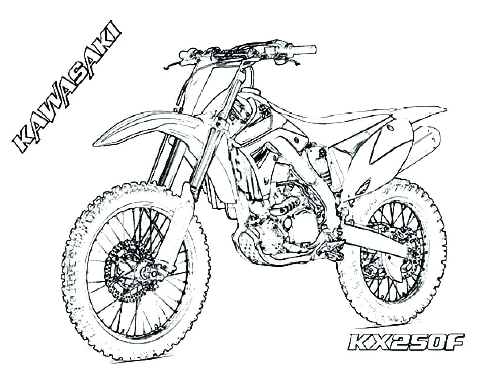 960x742 Printable Dirt Bike Coloring Pages Dirt Bike Racing Coloring Pages