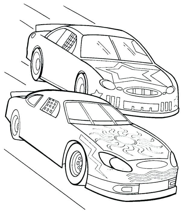 600x698 Cars Color Pages Race Car Color Page Coloring Pages Of Race Cars