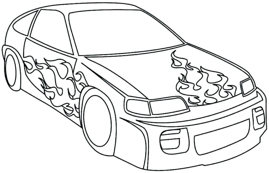 1024x659 Cars Coloring Pages Best Printable Race Car Kids Racing Colouring
