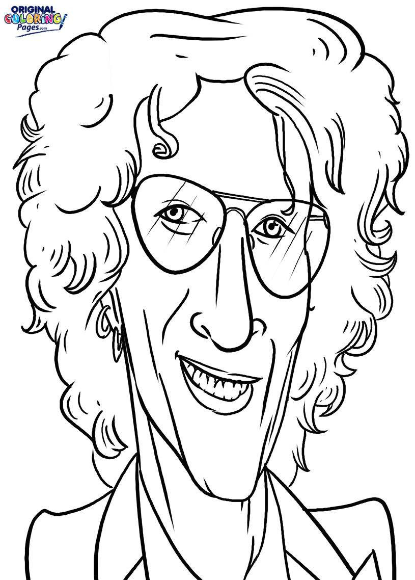 815x1138 Howard Stern Coloring Page Coloring Pages Original Coloring Pages