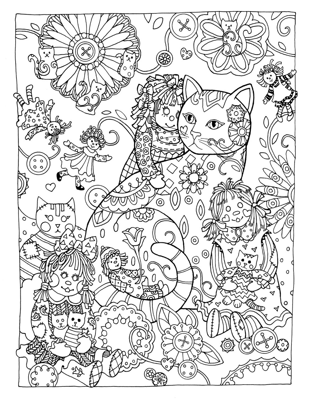 1000x1294 High Tech Dover Sampler Coloring Pages Creativ
