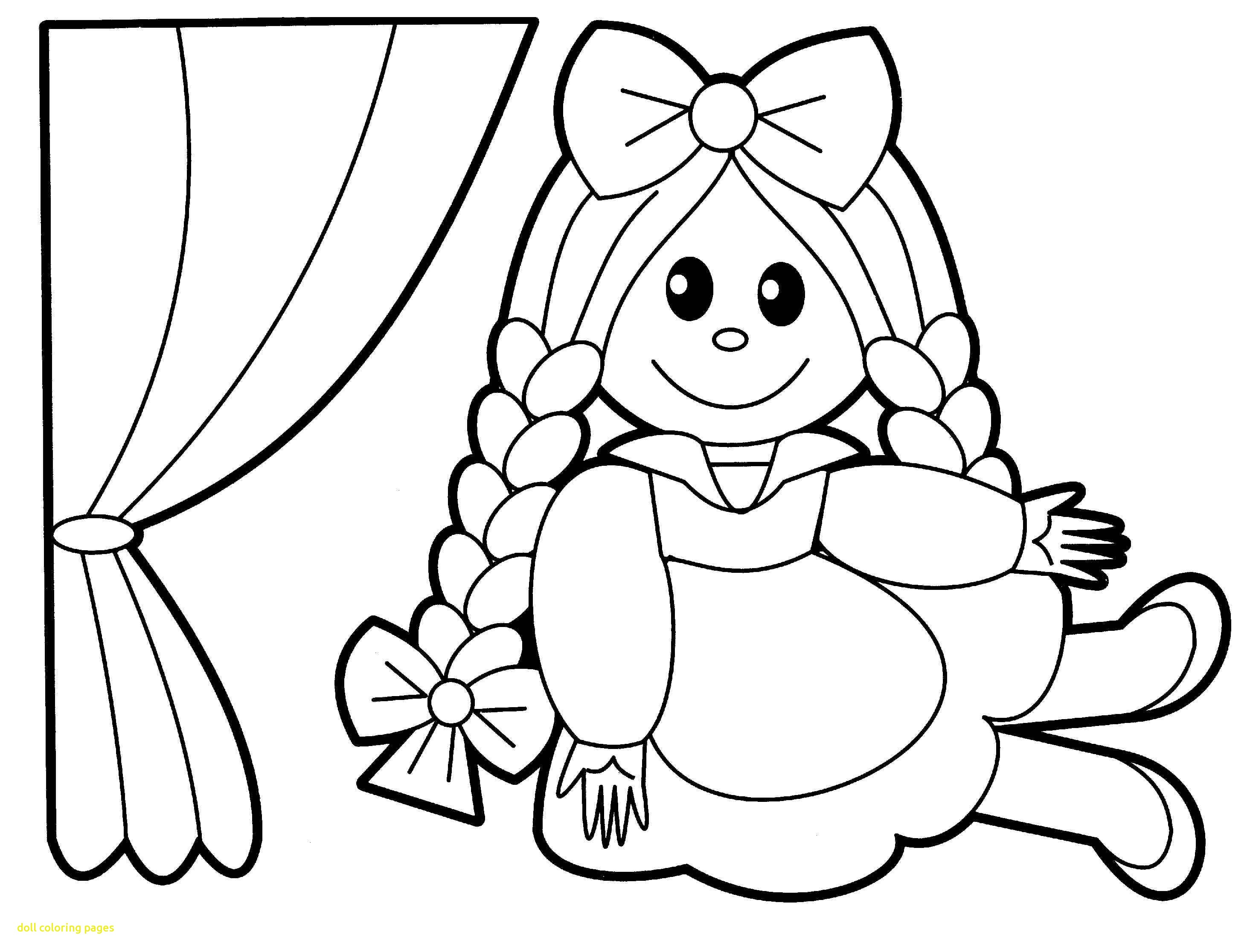 2930x2232 Inspiration Doll Coloring Rag Toy Free Printable Pages Coloring