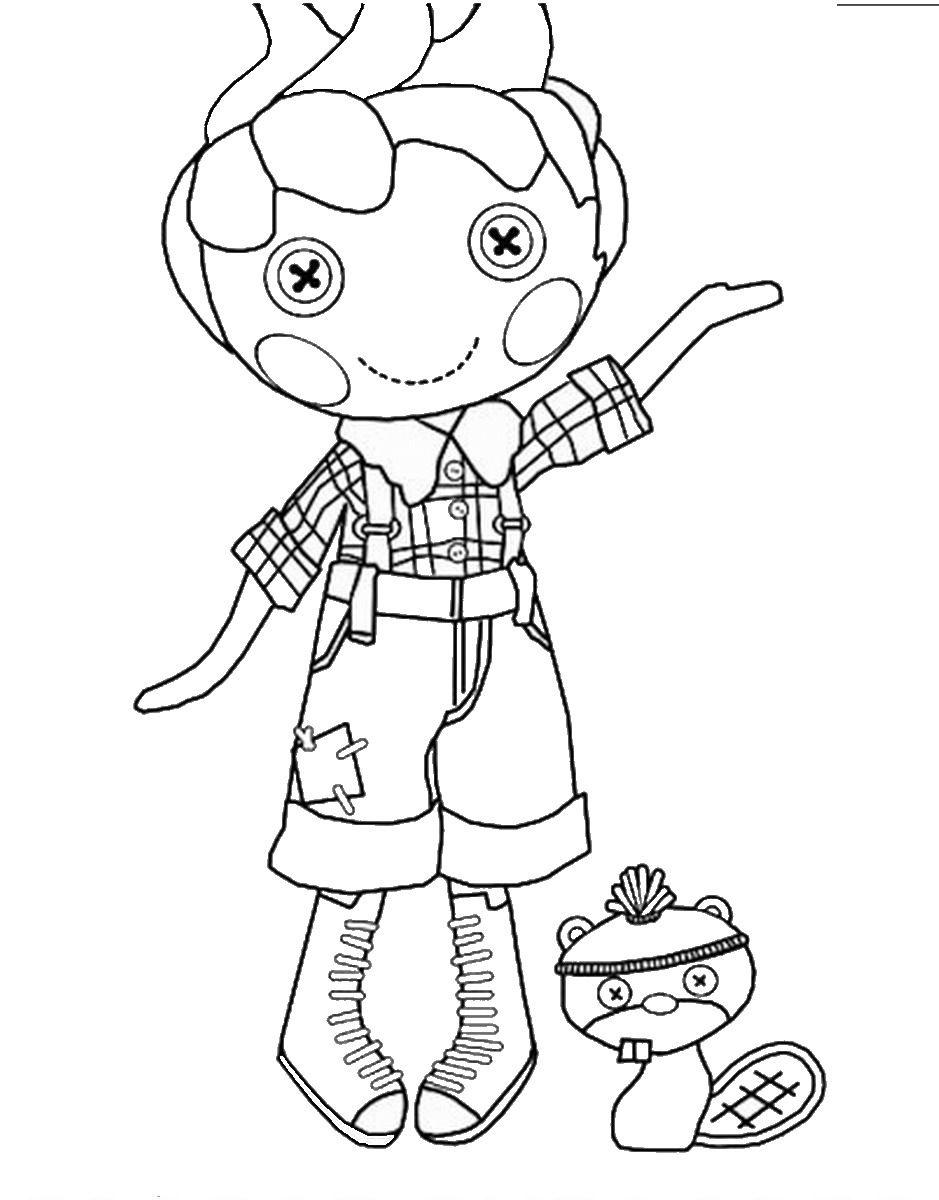939x1200 Lalaloopsy Boy Coloring Pages To Print Lalaloopsy Coloring Pages
