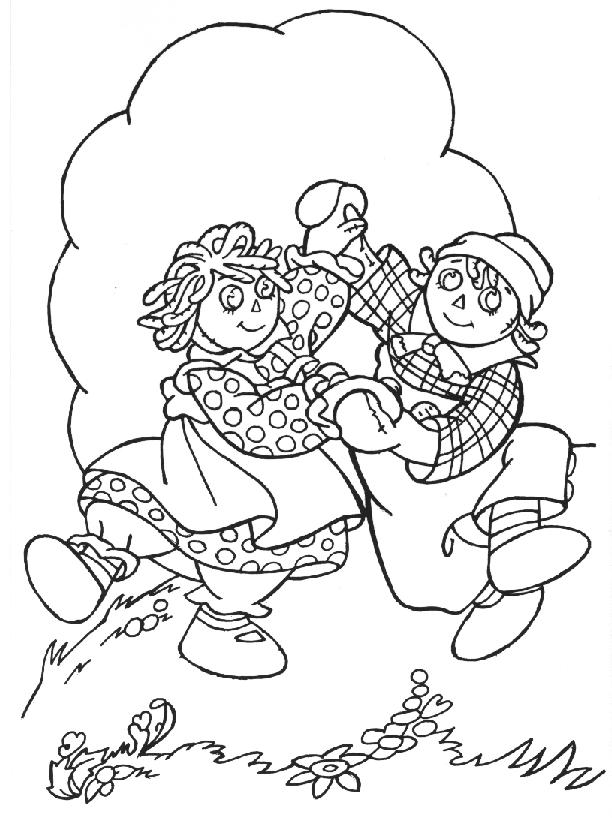 612x818 Just Arrived Raggedy Ann Coloring Pages And Andy Many Interesting