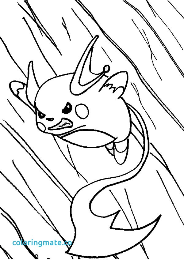 Raichu Pokemon Coloring Pages At Getdrawings Com Free For Personal